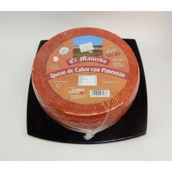 Queso de Cabra Semicurado con Pimentón BAJO EN SAL