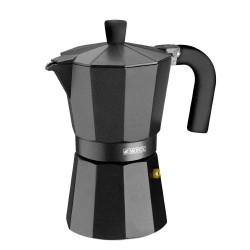 Monix Vitro Noir - cafetera de 6 tazas