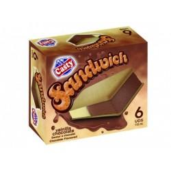 Sandwich Vainilla y Chocolate