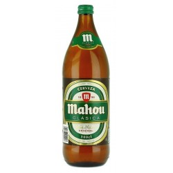 Cerveza Mahou 1l