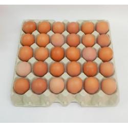 Cartón 30 Huevos Clase M Moreno